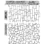 Stampers Anonymous - Tim Holtz - Slate & Stone Stamp Set