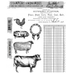 Stampers Anonymous - Tim Holtz - On The Farm Stamp Set