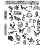 Stampers Anonymous - Tim Holtz - Tiny Things 2 Stamp Set