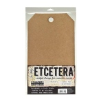 Stampers Anonymous - Tim Holtz - Etcetera Tags - Large - 1pk