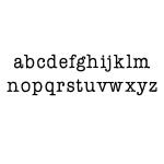 Ken Oliver - Pegz - Alphabet Stamp Set Lowercase - Small