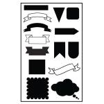 Ken Oliver - Planner Stencil #1 A5 Size