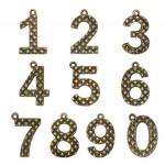 Maya Road - Ken Oliver - Vintage - Number Charms