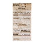 Advantus - Tim Holtz - Ideaology - Clippings Stickers