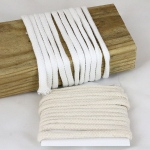 Canvas Corp - Ken Oliver - 100% Cotton Craft Cord - Cream