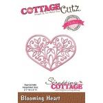 CottageCutz - Blooming Heart Die