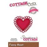 CottageCutz - Fancy Heart Die