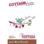 CottageCutz - Love Bird Branch Die