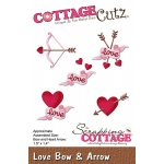 CottageCutz - Love Bow & Arrow Die