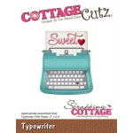 CottageCutz - Typewriter Die