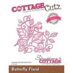 CottageCutz - Butterfly Floral Die