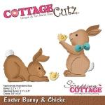 CottageCutz - Easter Bunny & Chicks Die