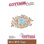 CottageCutz - Nest With Eggs Die