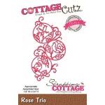 CottageCutz - Rose Trio Die