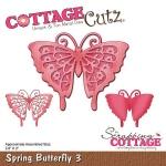 CottageCutz - Spring Butterfly 3 Die