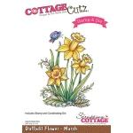 CottageCutz - Daffodil - March Stamp & Die Set