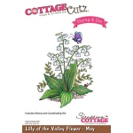 CottageCutz - Lilly of the Valley - May Stamp & Die Set