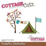 CottageCutz - Camptfire Clothesline Die