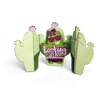 Sizzix - Thinlits Die Set 7 Pack - Card - Cactus Fold-a-Long by Jen Long