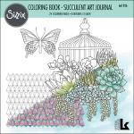Sizzix - Coloring Book - Succulent Art Journal by Lynda Kanase