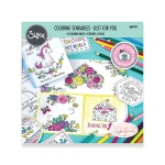 Sizzix - Coloring Sendables - Just for You by Katelyn Lizardi