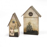Sizzix - Bigz L Die - Tiny Houses by Tim Holtz