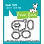 Lawn Fawn - Lawn Cuts - Bun in the Oven Dies