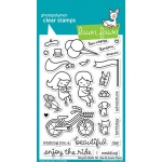 Lawn Fawn - Bicycle Built for You Stamp Set