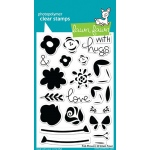Lawn Fawn - Fab Flowers Stamp Set