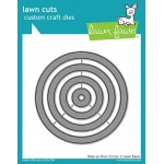 Lawn Fawn - Lawn Cuts - Slide on Over Circles Dies