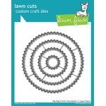 Lawn Fawn - Lawn Cuts - Zig Zag Circle Stackables Dies