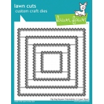 Lawn Fawn - Lawn Cuts - Zig Zag Square Stackables Dies