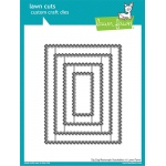 Lawn Fawn - Lawn Cuts - Zig Zag Rectangle Stackables Dies