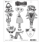 Ranger - Dyan Reaveley - Dylusions - Cling Stamps - Mini Me