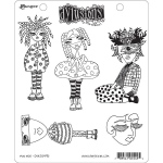 Ranger - Dyan Reaveley - Dylusions - Cling Stamps - Mini Moo
