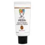 Ranger - Dina Wakley Media - Heavy Body Acrylic Paints - 2 oz Tubes Ancient