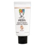 Ranger - Dina Wakley Media - Heavy Body Acrylic Paints - 2 oz Tubes Rosy