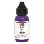 Ranger - Dina Wakley Media - Heavy Body Acrylic Paints - 1 oz Bottled Paints - Blackberry