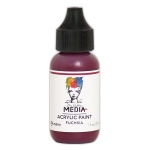 Ranger - Dina Wakley Media - Heavy Body Acrylic Paints - 1 oz Bottled Paints - Fuchsia
