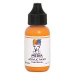 Ranger - Dina Wakley Media - Heavy Body Acrylic Paints - 1 oz Bottled Paints - Tangerine