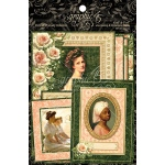 Graphic 45 - Portrait of a Lady - Ephemera Cards