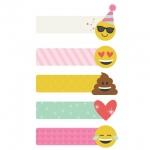 Simple Stories - Carpe Diem - Emoji Love - Page Flags
