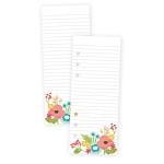 Simple Stories - Carpe Diem - Faith - Floral Bookmark Tablet
