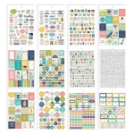 Simple Stories - Carpe Diem - Home - Home Sticker Sheet Tablet