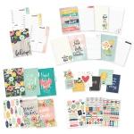 Simple Stories - Carpe Diem - Planner Essentials - Faith A5 Planner Insert Set