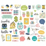 Simple Stories - Carpe Diem - Domestic Bliss - Bits & Pieces