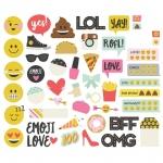 Simple Stories - Carpe Diem - Emoji Love - Bits & Pieces