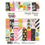 Simple Stories - Carpe Diem - Emoji Love - 6x8 Pad