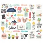 Simple Stories - Carpe Diem - Faith - Bits & Pieces