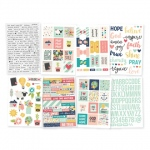 Simple Stories - Carpe Diem - Faith - 4x6 Sticker Sheets